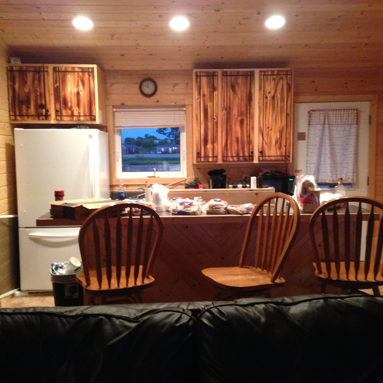Cabin at Devils Lake 7-8-17