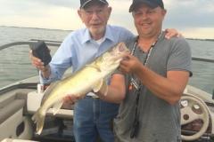 Biggest Fish  7-8-2017            at Devils Lake